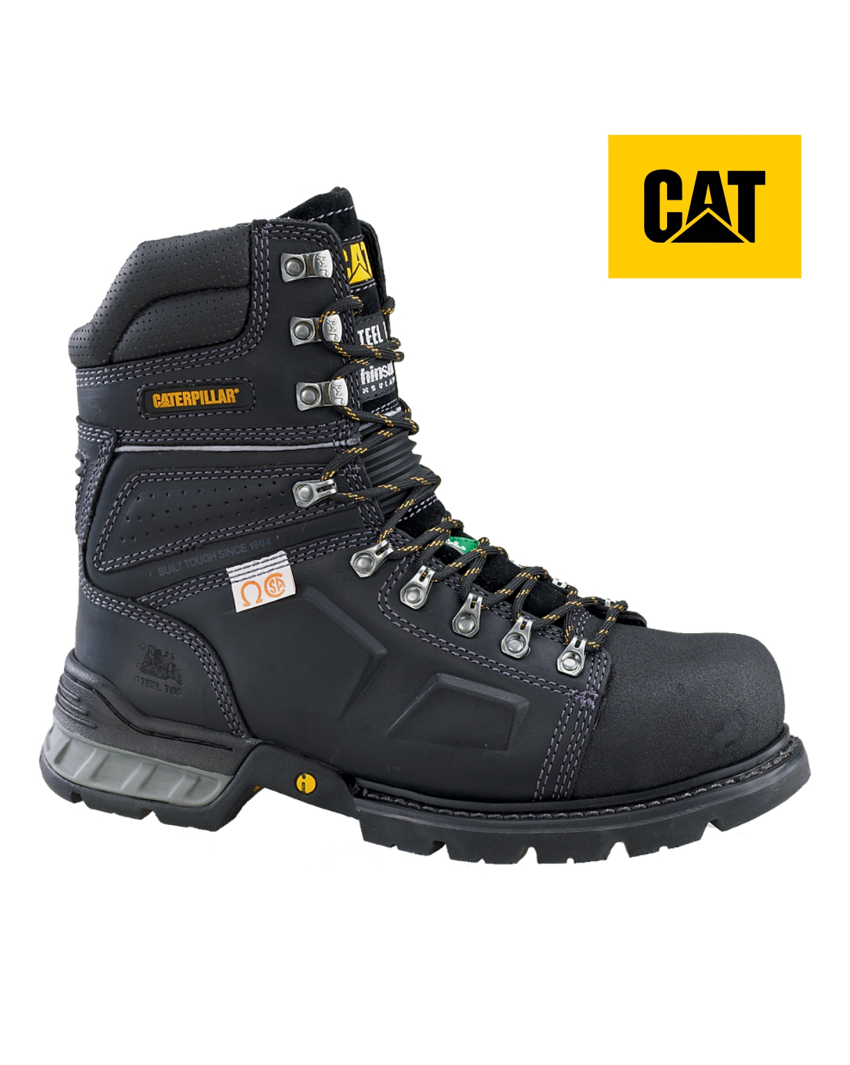 Cat Tensile Work Boot (Clearance