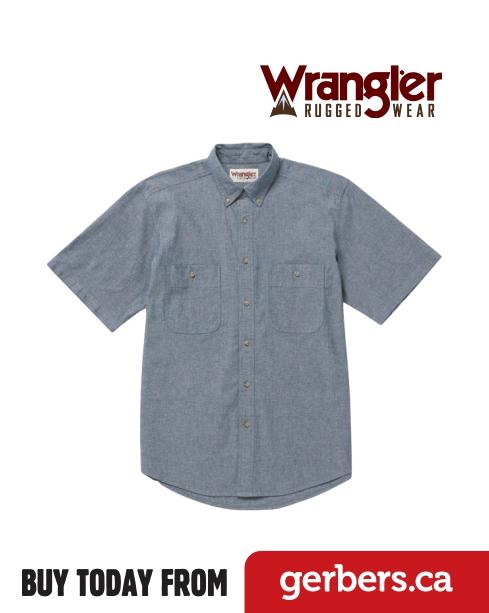 Wrangler Rugged Short Sleeve Shirt Gerber S